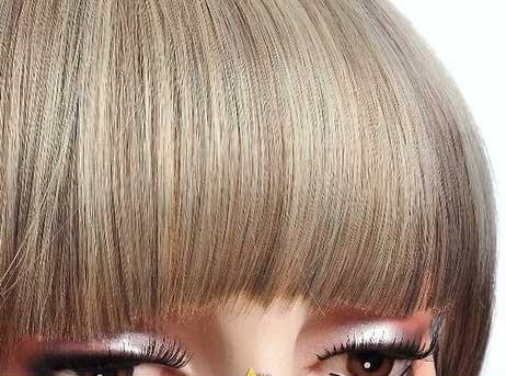 frange clips couleur 4 613 ch tain fonc m ch blond clair the queen wigs. Black Bedroom Furniture Sets. Home Design Ideas