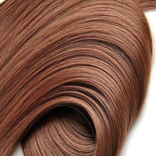 kit extension luxe lisse 55cm couleur 5 ch tain moyen cuivr the queen wigs. Black Bedroom Furniture Sets. Home Design Ideas