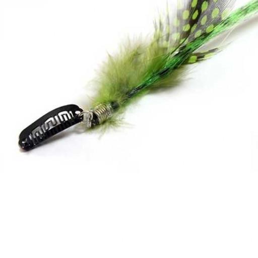 Extension plume 35cm Couleur Verte