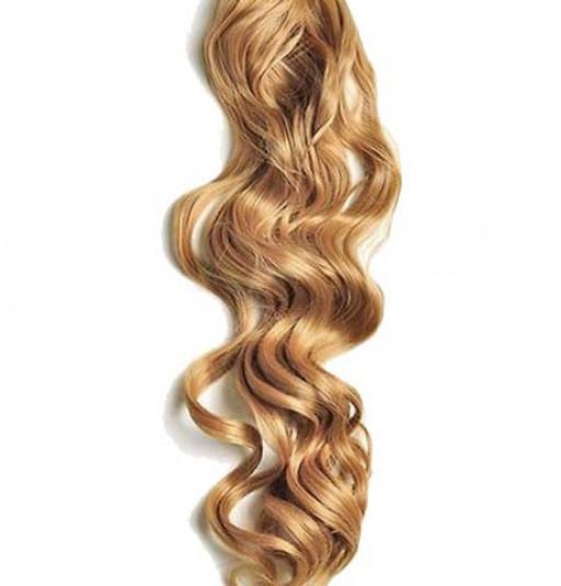 Kit extension à clips Bouclé 70cm Couleur #27 - Blond moyen