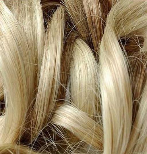 Kit extension Volume + Bouclé 55cm Couleur #6/613 - Châtain clair méché blond