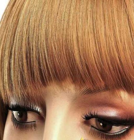 Frange à clips Couleur #27 - Blond moyen
