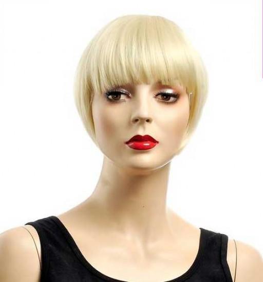 Frange à clips 15cm Couleur #613 - Blond platine