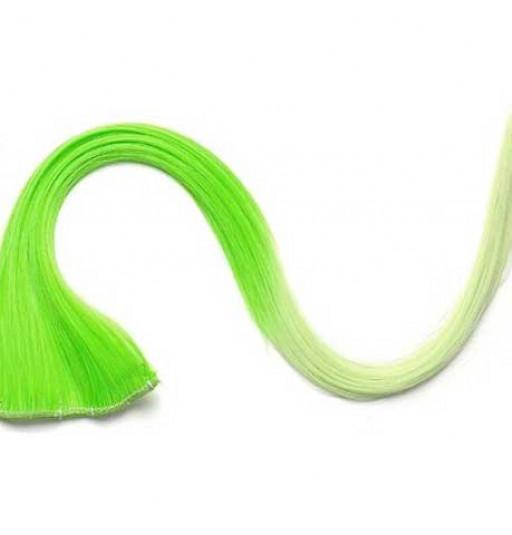 Extension Gardien Color 2 clips 55cm Couleur #K10 - Vert / Vert clair
