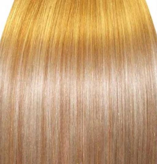 KitQueen Lisse 40cm Couleur #27T/613 - Blond méché