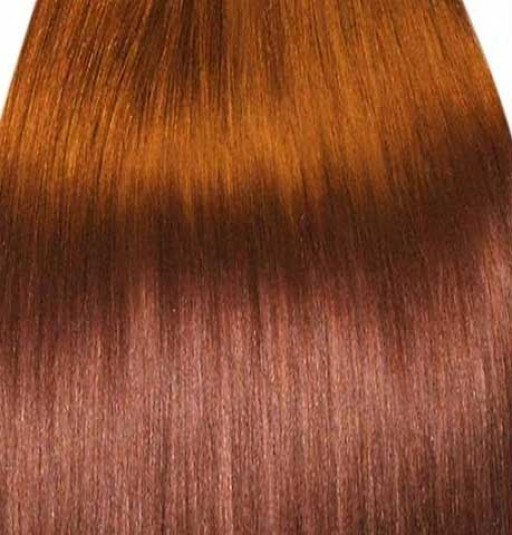 KitQueen Lisse 40cm Couleur #30 - Châtain cuivre doux