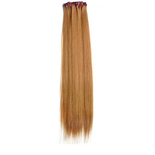Kit extension à clips Lisse 70cm Couleur #14 - Blond foncé