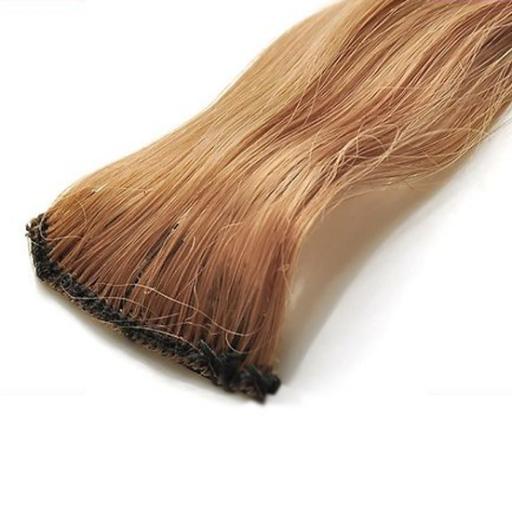 Mèche extension à clips 2 clips 55cm Couleur #18 - Châtain très clair