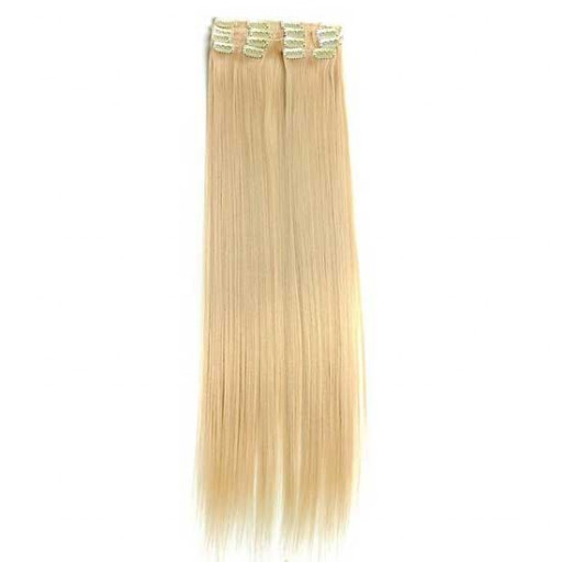 Kit extension à clips Lisse 55cm Couleur #24 - Blond doré