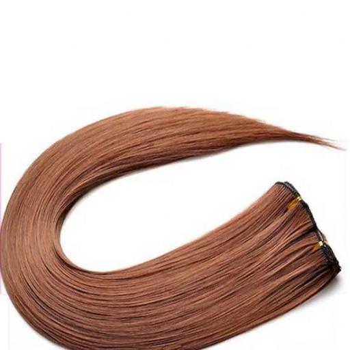 Kit extension à clips Lisse 45cm Couleur #27 - Blond moyen