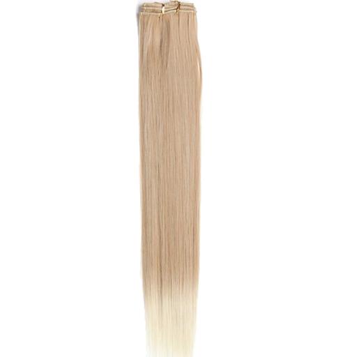 Kit extension à clips Lisse 70cm Couleur #27T/613 - Blond méché