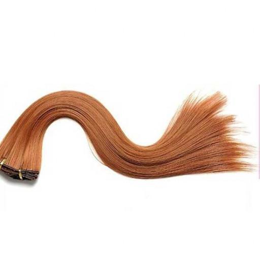Kit extension à clips Lisse 45cm Couleur #32 - Roux