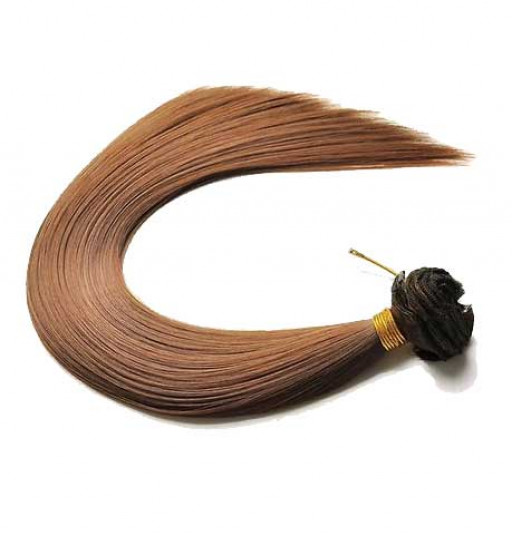 Kit extension à clips Lisse 45cm Couleur #4/30 - Châtain méché cuivre