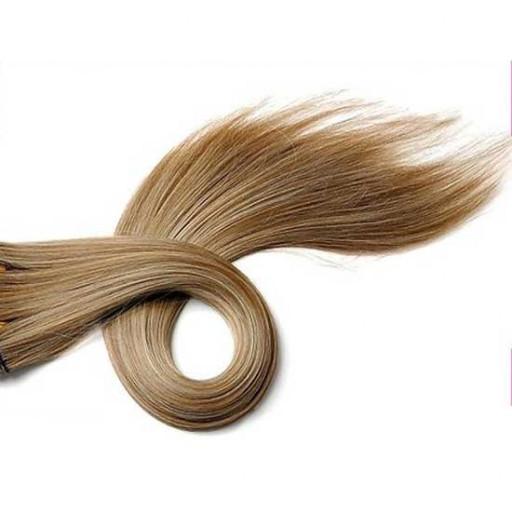 Kit extension à clips Lisse 45cm Couleur #6/613 - Châtain clair méché blond