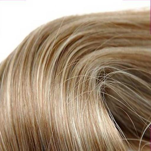 Kit extension Luxe Lisse 55cm Couleur #6/613 - Châtain clair méché blond