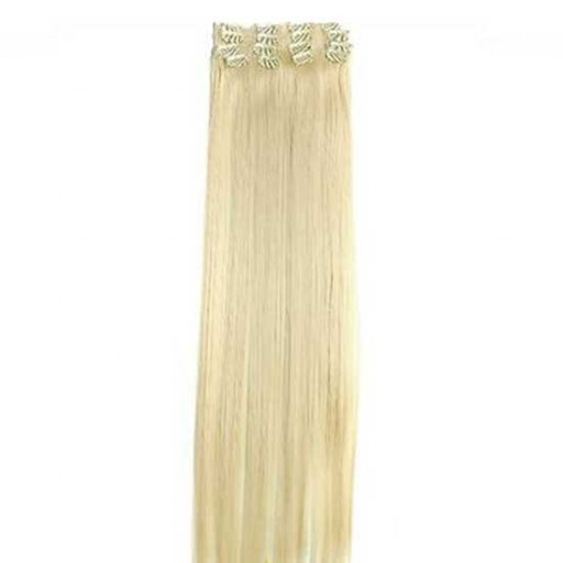 Kit extension à clips Lisse 55cm Couleur #613 - Blond platine