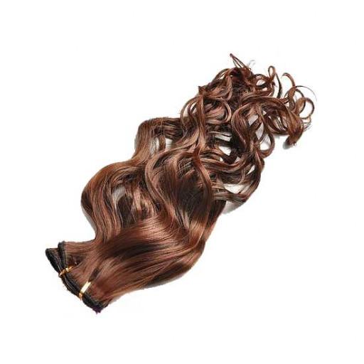 Tissage Ondulé 25cm Couleur #1B/30 - Brun méché cuivre