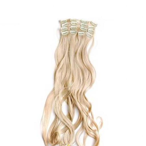 Kit extension Volume + Ondulé 55cm Couleur #24 - Blond doré