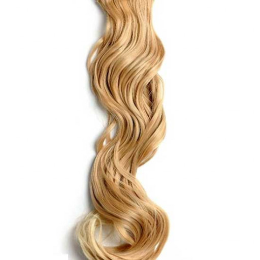 Kit extension à clips Ondulé 70cm Couleur #27T/613 - Blond méché