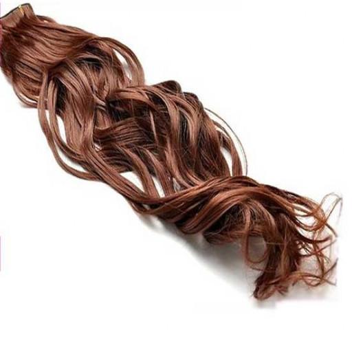 Kit extension à clips Ondulé 45cm Couleur #30 - Châtain cuivre doux