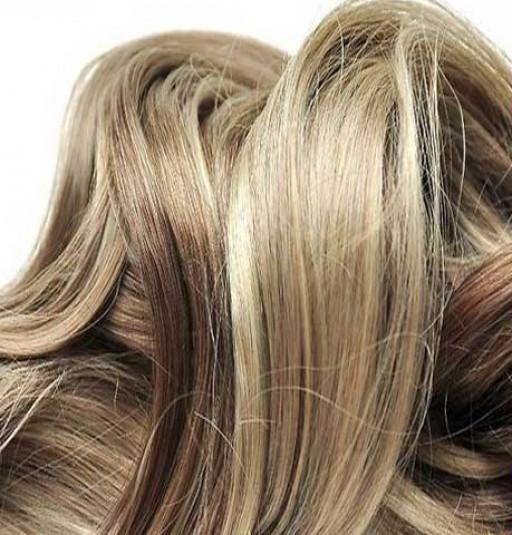 Kit extension Luxe Ondulé 55cm Couleur #4/613 - Châtain foncé méché blond clair