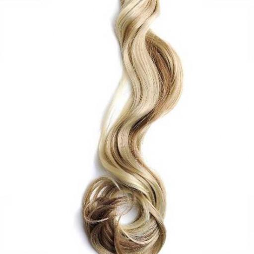 Kit extension à clips Ondulé 70cm Couleur #6/613 - Châtain clair méché blond