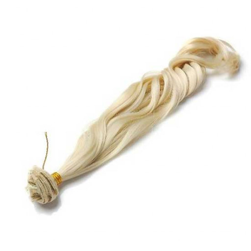 Tissage Ondulé 45cm Couleur #613 - Blond platine