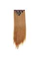 Kit extension à clips Lisse 55cm Couleur #16 - Châtain noisette