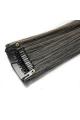 Mèche extension à clips 3 clips 55cm Couleur #1B/6 - Brun méché châtain