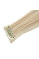 Mèche extension à clips 1 clip 55cm Couleur #24 - Blond doré