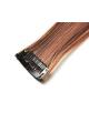 Mèche extension à clips 2 clips 55cm Couleur #4/30 - Châtain méché cuivre