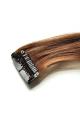 Mèche extension à clips 3 clips 55cm Couleur #6 - Châtain clair