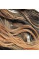 Kit extension Volume + Ondulé 55cm Couleur #1B/27 - Brun méché châtain/blond