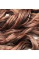 Kit extension Luxe Ondulé 55cm Couleur #4/30 - Châtain méché cuivre