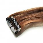 Mèche extension à clips 3 clips 55cm Couleur #6 - Châtain clair 804-6-55