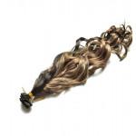 Kit extension à clips Bouclé 45cm Couleur #1B/27 - Brun méché châtain/blond 902-1B/27-45