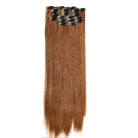 Kit extension à clips Lisse 55cm Couleur #6 - Châtain clair 900-6-55