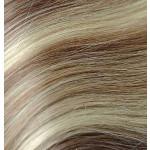 Kit extension Volume + Lisse 55cm Couleur #4/613 - Châtain foncé méché blond clair MV900-4/13-55