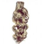 Kit extension à clips Bouclé 55cm Couleur #4/24 - Châtain méché blond 902-4/24-55
