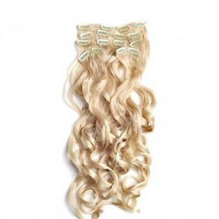 Kit extension à clips Bouclé 55cm Couleur #24 - Blond doré 902-24-55