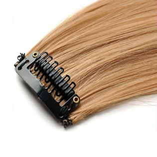Mèche extension à clips 1 clip 55cm Couleur #22 - Blond moyen/clair 800-22-55