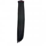 Kit extension à clips Lisse 70cm Couleur #1B - Brun ténèbres 900-1B-70