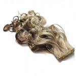 Kit extension à clips Bouclé 45cm Couleur #4/24 - Châtain méché blond 902-4/24-45