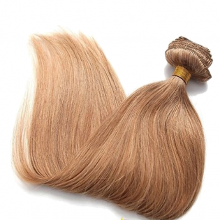 Kit extension naturel diamond lisse 55cm Couleur #27N - Blond BH00-27-55 de Thequeenwigs