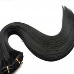 Tissage Lisse 45cm Couleur #2 - Noir Brun HW00-2-45