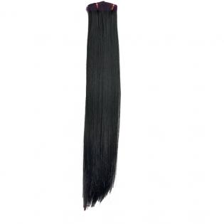 Tissage Lisse 60cm Couleur #1B - Noir ténèbres HW00-1B-60