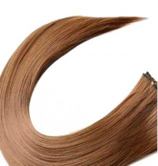 Kit extension à clips Lisse 45cm Couleur #6 - Châtain clair 900-6-45
