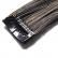 Mèche extension à clips 3 clips 55cm Couleur #1B/27 - Brun méché châtain/blond