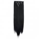 Kit extension à clips Lisse 55cm Couleur #1B - Noir ténèbres 900-1B-55