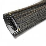 Mèche extension à clips 3 clips 55cm Couleur #1B/6 - Brun méché châtain 804-1B/6-55